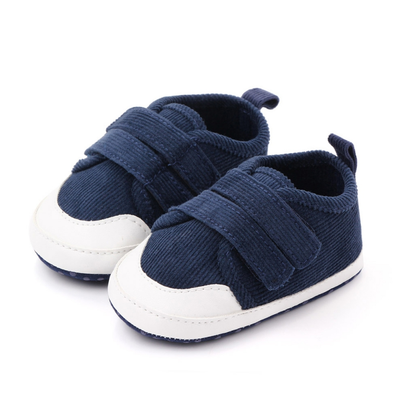 Baby First Walkers Newborn Boy Sport Shoes Infant Toddler Canvas Shoes Spring Anti Slip Baby Boys Sneaker Prewalker 0-18M1