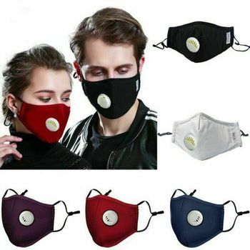 2020 New Arrival Reusable PM2.5 Mouth Mask Dust Respirator Anti Haze Face Masks Cotton Unisex
