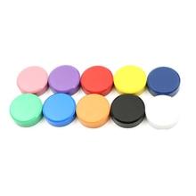 Stickers Magnet Nail-Push-Pins White-Board Fridge Office 10-Color 20pcs 20x8mm Thumbtacks