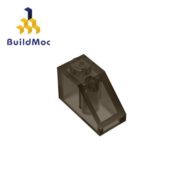 Buildmoc 3040 inclinação 45 2x1 para blocos de construção peças diy educacional presente criativo brinquedos
