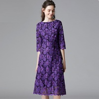 Autumn women Vintage floral embroidered party long dress festival elegant dress plus size casual vestidos L 5XL saias femininas