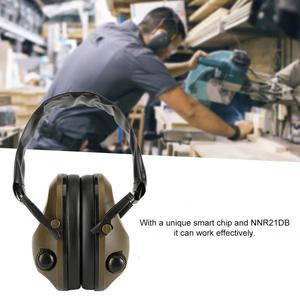 Image 5 - Тактическая электронная съемка наушник для спорта на открытом воздухе Анти шумоподавление наушники защитная гарнитура складная Защита слуха