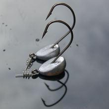5 шт джиг крючков 3 рыболовный крючок с свинцовой головкой для