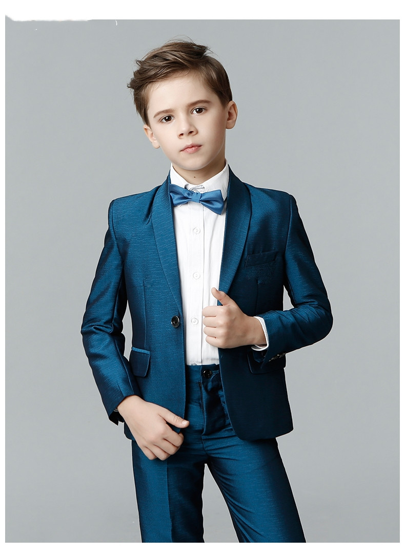 Kid/'s 3 Piece Notch Lapel Wedding Groom Tuxedos Flower Boys Children Party Suits