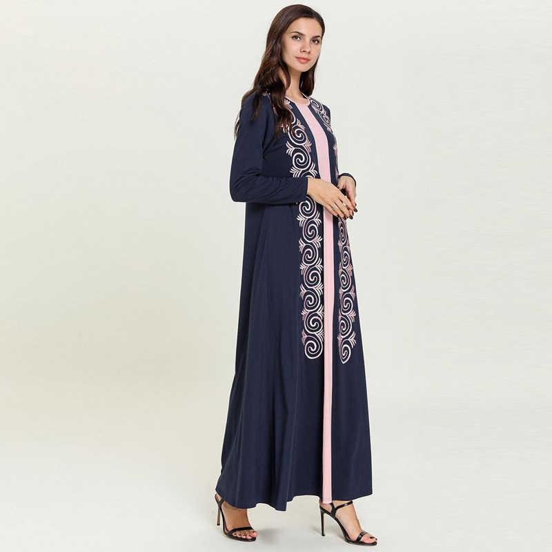 دبي عباية قفطان المغرب فستان عربي مسلم تركيا قفطان تركي فساتين الحجاب رداء Musulmane Longue العربية Vestidos Compridos