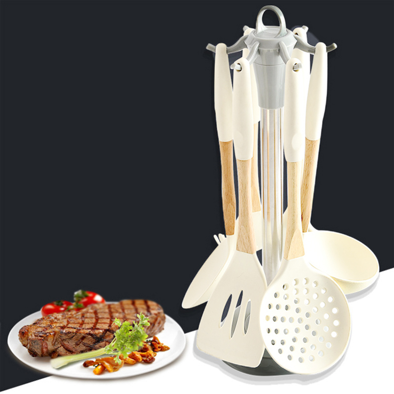 Cooking Tools Set Premium Silicone Kitchen Home Appliances Kitchen