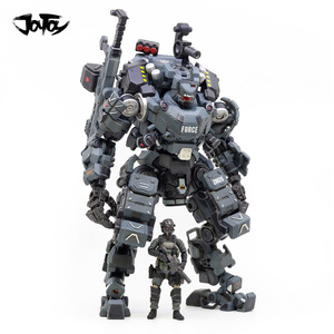 Image 1 - JOYTOY 23cm 1/25 Scale Collectible White/Blue/sliver Color STEEL BONE ARMOR with Figure Doll Collection Toy