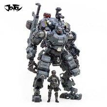 JOYTOY 23cm 1/25 סולם אסיפה לבן/כחול/רסיס צבע פלדת עצם שריון עם דמות בובת אוסף צעצוע
