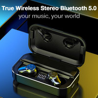 Fones de ouvido sem fio toque bluetooth fone de ouvido in ear cancelamento de ruído fones de ouvido handsfree para honra 9x redmi nota 8 pro|Fones de ouvido|Eletrônicos -
