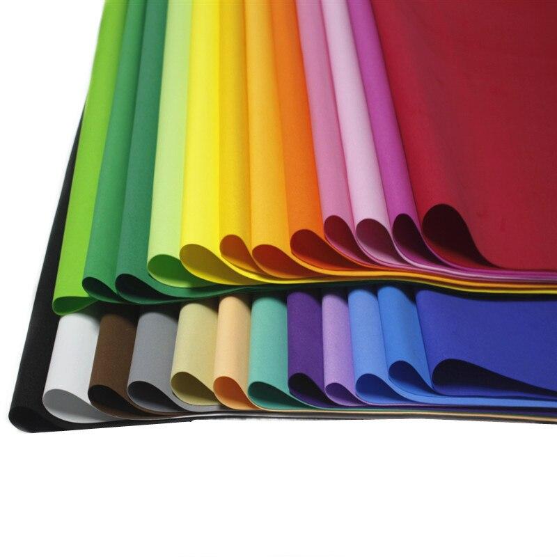 50*50 EVA Foam Paper Handmade Foam Sheets Color Sponge Paper DIY Handcraft Materials Multicolour Party Christmas 10 Sheets