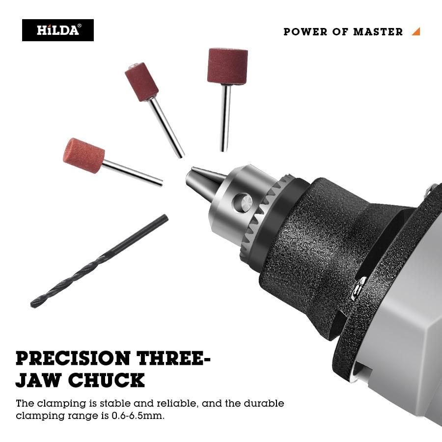 Drill Cutting Drilling With Tools Grinder Accessories Mini Dremel Rotary Grinder Polishing Mini Electric HILDA