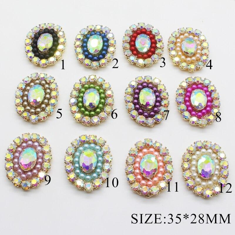 Fine Alloy Pearl Retro Jewelry Decoration Accessories 5pcs Creative Handmade Beautiful Decoration Holiday Wedding Production