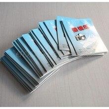 50-500 листов мягкая ткань для оптики объектива камеры Чистящая бумага салфетки буклет Прямая поставка