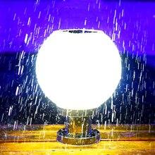 18 светодиодный круглый шар Нержавеющаясталь солнечный светильник столба на открытом воздухе IP65 Водонепроницаемый Колонка головной свети...