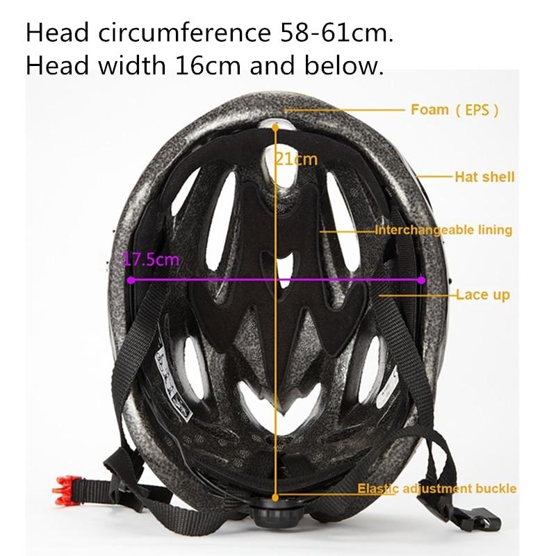 Купить с кэшбэком AOSTIRMOTOR Bicycle Helmet MTB Ultralight Road Bike Helmet Mountain Bike Helmet Outdoor Riding Man Woman Cycling Helmet