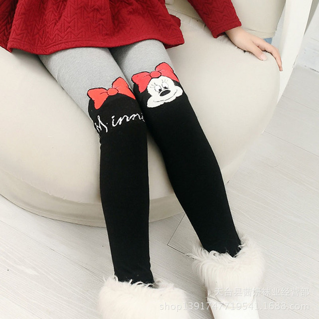 Disney Pantyhose For Girls Cute Hello Kitty Cartoon Tights Girls Infant Stockings Spring Thin Knitted Kids Children`s Pantyhose 6
