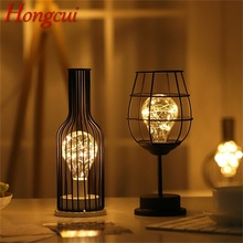 Hongcui Night Light Decorative Light Wine Glass Grape Bottle Led Creative Atmosphere Light