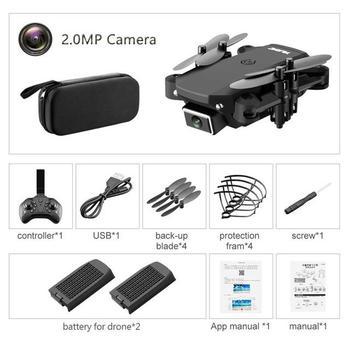 ZITY S66 FPV Mini Drone With Camera HD RC Foldable Drone 4K Professional Wifi Double Camera Drones Quadcopter RC Drone Mini Toys 13