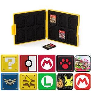 Image 1 - Nintend Schakelaar Accessoires Draagbare Game Kaarten Case Shockproof Hard Shell Opbergdoos Voor Nintendo Switch Ns Games