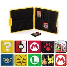 Nintend Schalter Zubehör Tragbare Spiel Karten Fall Stoßfest Hard Shell Storage Box Für Nintendo Schalter NS Spiele