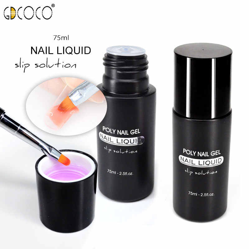 #86139 Poly Gel Vloeistof Voor Losweken Uv Led Extension Gel Nail Brush Slice Tip Gel Nagellak Manicure acryl Gel Anti Oplossing