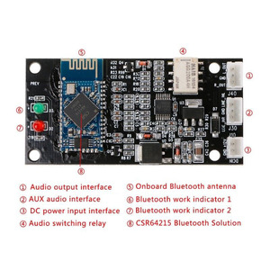 Image 3 - Lusya QCC3008 APT X Wireless Lossless Bluetooth 5.0 Audio Stereo Receiver Board 6 36V A7 007