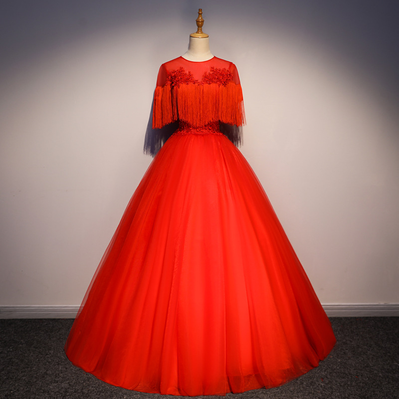 Quinceanera Dress 2019 New The Red Prom Ball Gown Elegant Quinceanera Dresses Vestidos De 15 Anos Vestidos De 15