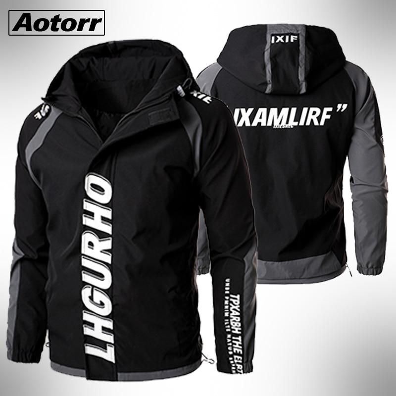 2020 Hooded Zipper Men Jackets Windbreaker Military Cargo Coats Bomber Male Large Size 5XL WateProof Autumn Jacket Outwear