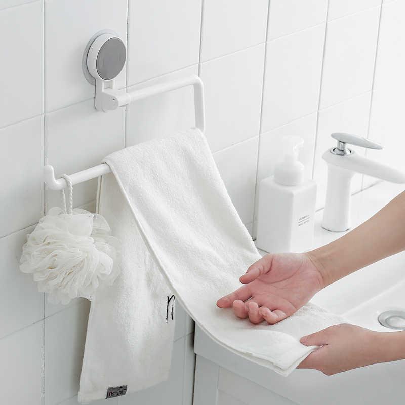 حامل ورق المطبخ رف لاصق حامل لفة للحمام منشفة رف Estanterias Pared ديكورات الأنسجة الرف المنظم