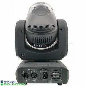 Image 5 - Projecteur de lumière à tête mobile 100W LED avec faisceau de lavage, Cree 4 en 1, 6 pièces de lumière pour Disco DJ lampe à LED