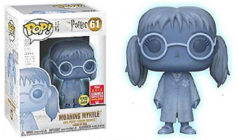 Figura pop draco malfoy harries potter gemendo myrtle limitada bonecas de vinil figura modelo brinquedos para crianças presentes natal
