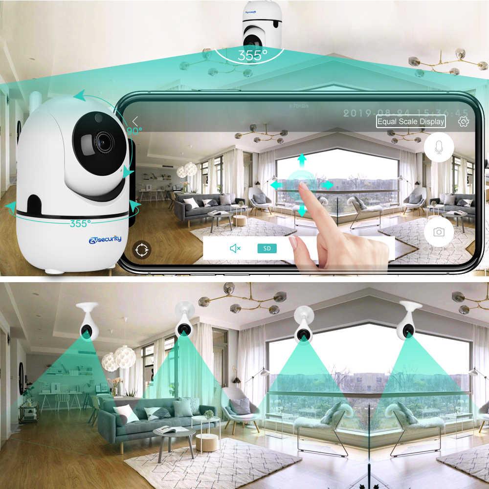 1080P Wifi камера с автоматическим отслеживанием умная беспроводная домашняя камера безопасности iCSee Аудио Сигнализация панорамная камера наблюдения с наклоном и зумом камера видеонаблюдения WiFi