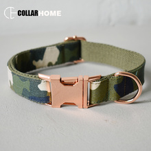 nylon bow dog collar pet leash straps adjustable necklace with tie for medium big dogs labrador camouflage element