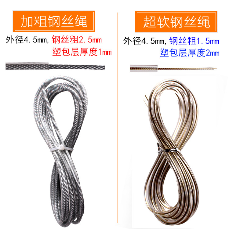 Jump Rope Profession Lanyard Adult Fitness Men Female Exclusive For Children Students The Academic Test For The Junior High Scho