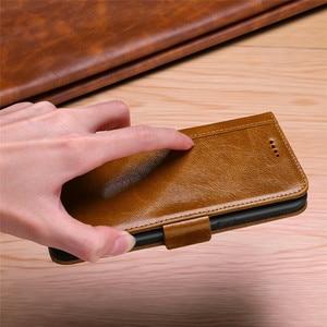 Image 2 - Роскошный флип чехол бумажник для Samsung Galaxy Note 10 9 8 s10 S9 S8 Plus Note9 Note8 S9plus из натуральной кожи, магнитный чехол книжка 360