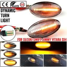 LED Dynamic Side Marker Light Signal Blinker for Suzuki Grand Vitara Swift MZ EZ FZ Jimny Splas APV Arena Alto SX4 S Cross XL7