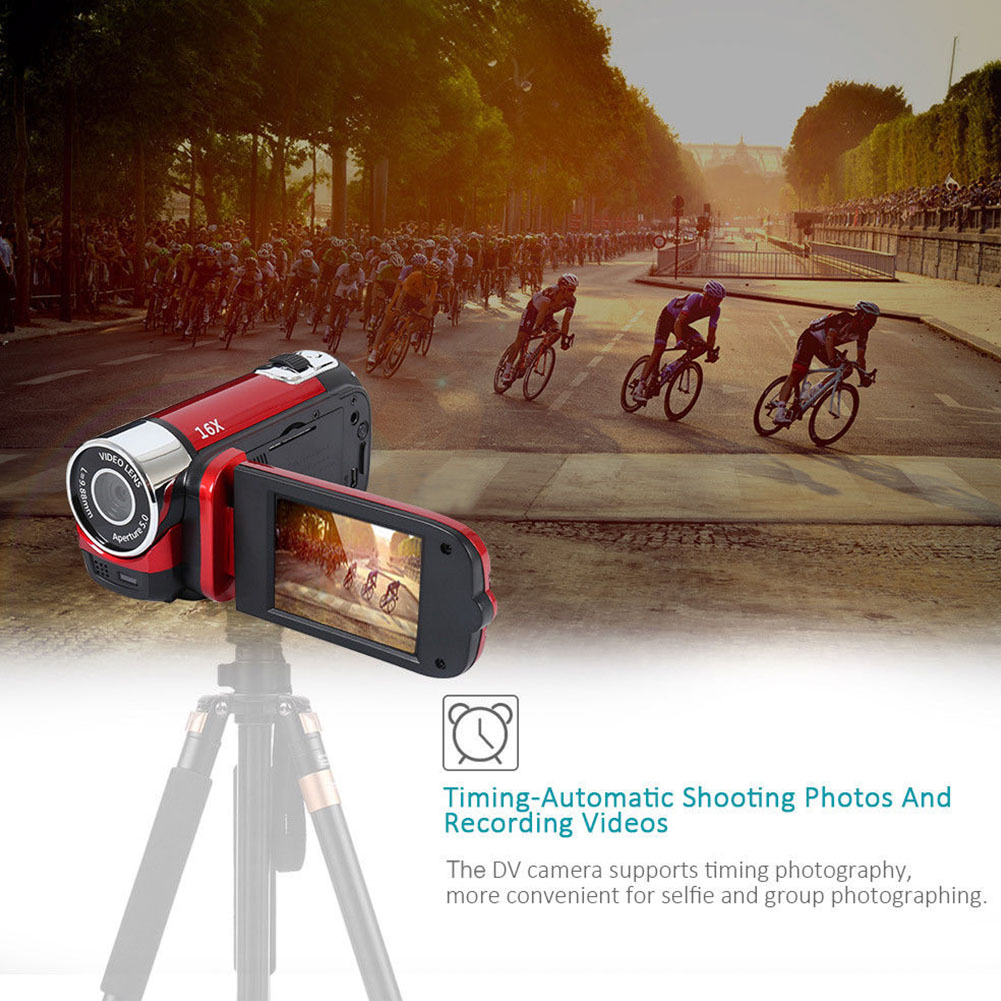 1080P Anti shake Gifts Digital Camera Portable Clear Camcorder Professional High Definition Shooting Wifi DVR Night 1080P Anti-shake Gifts Digital Camera Portable Clear Camcorder Professional High Definition Shooting Wifi DVR Night Vision
