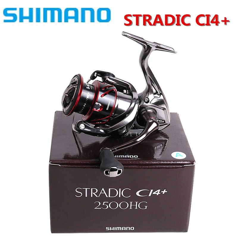2016 Shimano Stradic CI4 + C2000S C2500S 2500HGS Ondiepe Spool 1000 2500 C3000 C3000HGM 4000 4000XG Spinning Vissen Reel