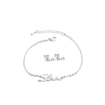 Love Heart Honey Earring Bracelet 1