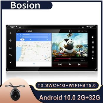 Bosion 2 Din Raido Car android 10 Car Multimedia Player For toyota vios crown camry hiace previa corolla rav4 dvd player BT 5.0 image