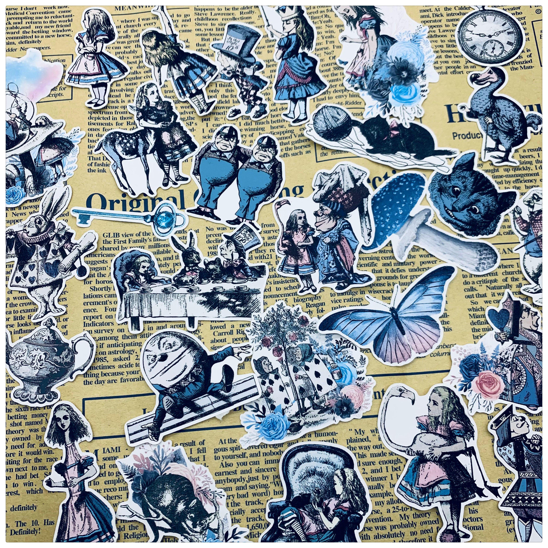 28PCS Vintage Bunny aufkleber DIY scrapbooking basis collage junk journal tagebuch glücklich plan geschenk dichtung dekoration aufkleber