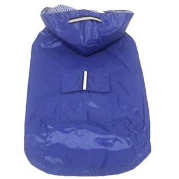 Pet's Hoodies Raincoat with Reflective Stripes Pet Outdoor Rain Jacket Poncho For Medium / Large Dog 3
