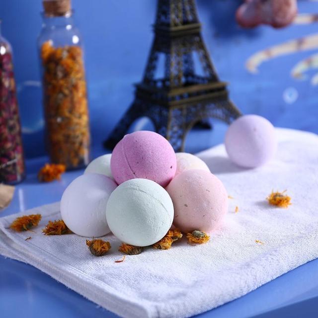 bath bombs  Explosion bath salt ball 6 boxed bath salt bath bal 3