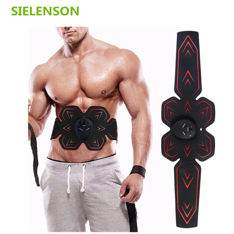 2019 New Smart Electric wireless muscle stimulator EMS trainer Waist and Abdominal ABS Stimulator Fitness Body Slimming Massager