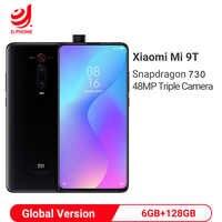 Versión Global Xiaomi mi 9 T 9 T 6GB 128GB Snapdragon 730 Octa Core 6,39 AMOLED 48MP cámaras 4000mAh Smartphone NFC