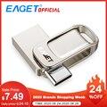 Eaget CU31 OTG USB3.1 флэш-накопитель мини флэш-диск Type-C высокоскоростная Флешка 16G 32G 64G 128G Type-C Интерфейс USB флеш-накопители