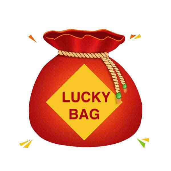 Şanslı çanta satış, alacaksınız bir şey formu beş alın, şanslı çanta, alacaksınız hediye para için mükemmel değer