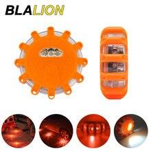 3pcs/Set Magnetic Car Emergency Flashing Lights LED Strobe Warning Light Road Rescue Safety Help LED Flashlights Car Beacon Lamp