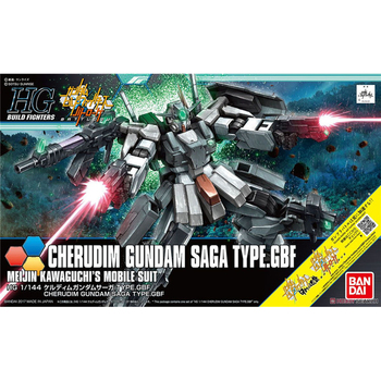 BANDAI HG 1/144 GN-006/SA Cherudim Gundam SAGA Model Action Toy Figures Christmas Gifts 2