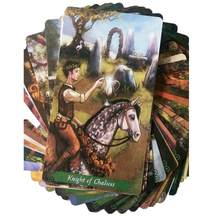 78 Pieces The Green Witch Tarot Tarot Cards Deck Board Games For Party Playing Card Tarot Table Game Entertainment(China)